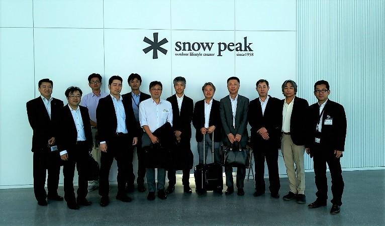 地場産業研修として開催した新潟ブロックミーティングが開催されました。