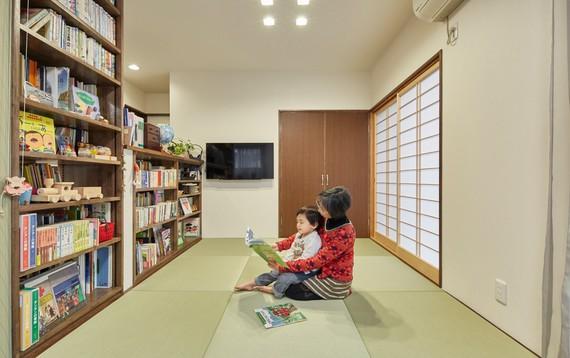 大好きな本に囲まれて~3世代読み継がれる本~