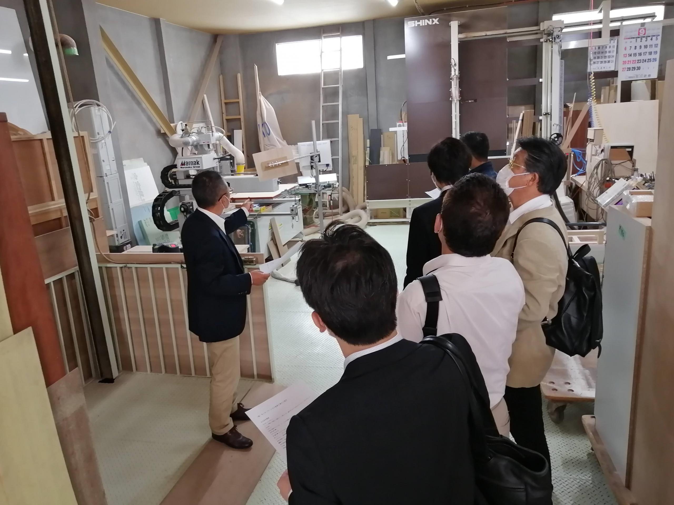 ジェルコ北海道支部 9月例会 キッチンワークスさんを訪問しました
